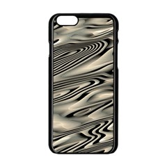 Alien Planet Surface Apple Iphone 6/6s Black Enamel Case by BangZart