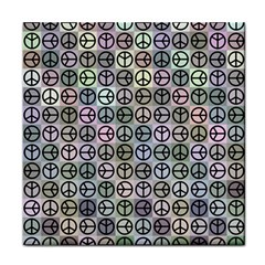 Peace Pattern Tile Coasters by BangZart