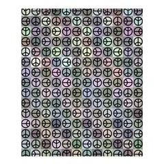 Peace Pattern Shower Curtain 60  X 72  (medium)  by BangZart