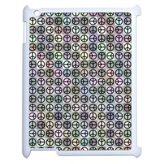 Peace Pattern Apple Ipad 2 Case (white) by BangZart