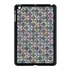 Peace Pattern Apple Ipad Mini Case (black)