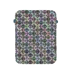 Peace Pattern Apple Ipad 2/3/4 Protective Soft Cases by BangZart