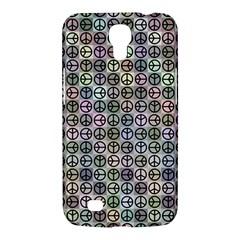 Peace Pattern Samsung Galaxy Mega 6 3  I9200 Hardshell Case by BangZart