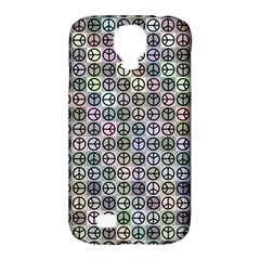 Peace Pattern Samsung Galaxy S4 Classic Hardshell Case (pc+silicone)