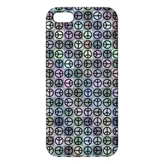Peace Pattern Iphone 5s/ Se Premium Hardshell Case by BangZart