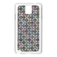 Peace Pattern Samsung Galaxy Note 3 N9005 Case (white)