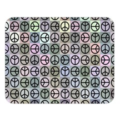 Peace Pattern Double Sided Flano Blanket (large)