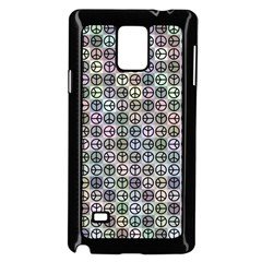 Peace Pattern Samsung Galaxy Note 4 Case (black)