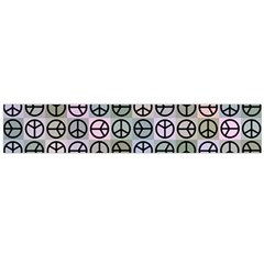 Peace Pattern Flano Scarf (large)