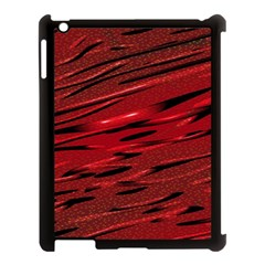 Alien Sine Pattern Apple Ipad 3/4 Case (black)