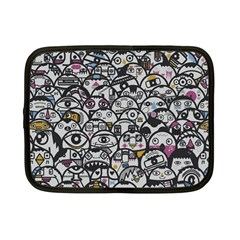 Alien Crowd Pattern Netbook Case (Small)  by BangZart