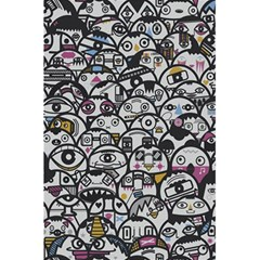 Alien Crowd Pattern 5 5  X 8 5  Notebooks by BangZart