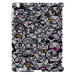 Alien Crowd Pattern Apple Ipad 3/4 Hardshell Case (compatible With Smart Cover) by BangZart