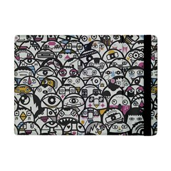 Alien Crowd Pattern Apple Ipad Mini Flip Case