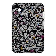 Alien Crowd Pattern Samsung Galaxy Tab 2 (7 ) P3100 Hardshell Case  by BangZart