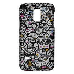 Alien Crowd Pattern Galaxy S5 Mini by BangZart