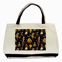 Alien Surface Pattern Basic Tote Bag (two Sides)