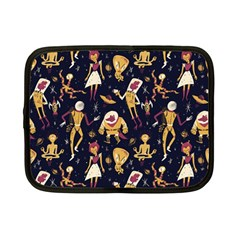 Alien Surface Pattern Netbook Case (small)  by BangZart