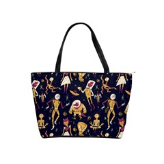 Alien Surface Pattern Shoulder Handbags by BangZart