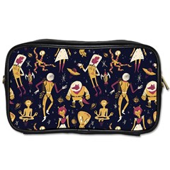 Alien Surface Pattern Toiletries Bags 2 Side