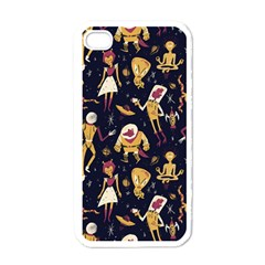Alien Surface Pattern Apple Iphone 4 Case (white) by BangZart