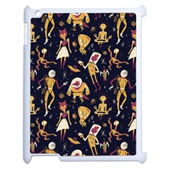 Alien Surface Pattern Apple Ipad 2 Case (white) by BangZart