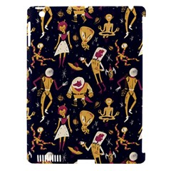 Alien Surface Pattern Apple Ipad 3/4 Hardshell Case (compatible With Smart Cover) by BangZart