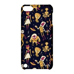 Alien Surface Pattern Apple Ipod Touch 5 Hardshell Case With Stand