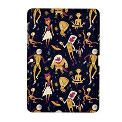 Alien Surface Pattern Samsung Galaxy Tab 2 (10 1 ) P5100 Hardshell Case