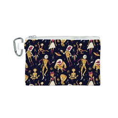 Alien Surface Pattern Canvas Cosmetic Bag (s) by BangZart
