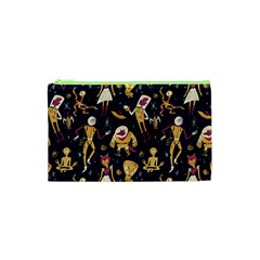 Alien Surface Pattern Cosmetic Bag (xs) by BangZart
