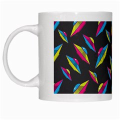 Alien Patterns Vector Graphic White Mugs by BangZart