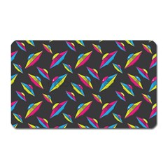 Alien Patterns Vector Graphic Magnet (rectangular) by BangZart