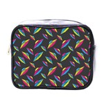 Alien Patterns Vector Graphic Mini Toiletries Bags Front