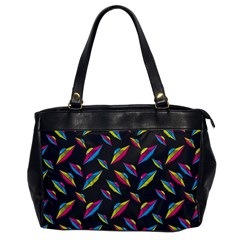 Alien Patterns Vector Graphic Office Handbags by BangZart