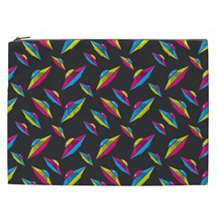 Alien Patterns Vector Graphic Cosmetic Bag (xxl)  by BangZart