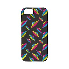 Alien Patterns Vector Graphic Apple Iphone 5 Classic Hardshell Case (pc+silicone)