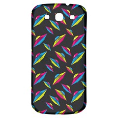 Alien Patterns Vector Graphic Samsung Galaxy S3 S Iii Classic Hardshell Back Case by BangZart