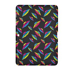 Alien Patterns Vector Graphic Samsung Galaxy Tab 2 (10 1 ) P5100 Hardshell Case  by BangZart