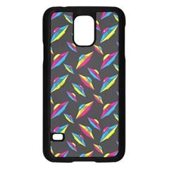 Alien Patterns Vector Graphic Samsung Galaxy S5 Case (black) by BangZart