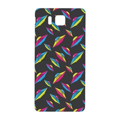 Alien Patterns Vector Graphic Samsung Galaxy Alpha Hardshell Back Case by BangZart