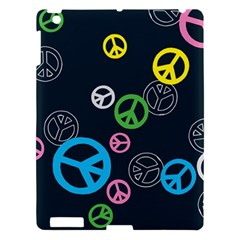 Peace & Love Pattern Apple Ipad 3/4 Hardshell Case