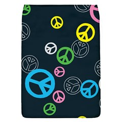 Peace & Love Pattern Flap Covers (s)  by BangZart