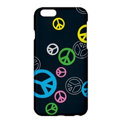 Peace & Love Pattern Apple Iphone 6 Plus/6s Plus Hardshell Case