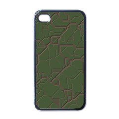 Alien Wires Texture Apple Iphone 4 Case (black)