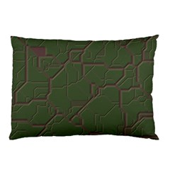 Alien Wires Texture Pillow Case (two Sides) by BangZart