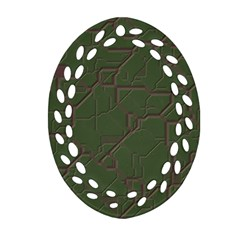 Alien Wires Texture Ornament (oval Filigree)