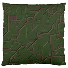Alien Wires Texture Large Cushion Case (two Sides) by BangZart