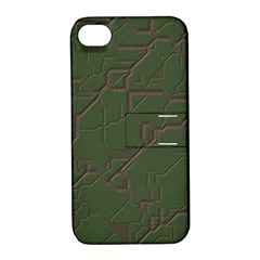 Alien Wires Texture Apple Iphone 4/4s Hardshell Case With Stand by BangZart