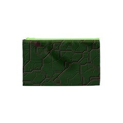 Alien Wires Texture Cosmetic Bag (xs) by BangZart